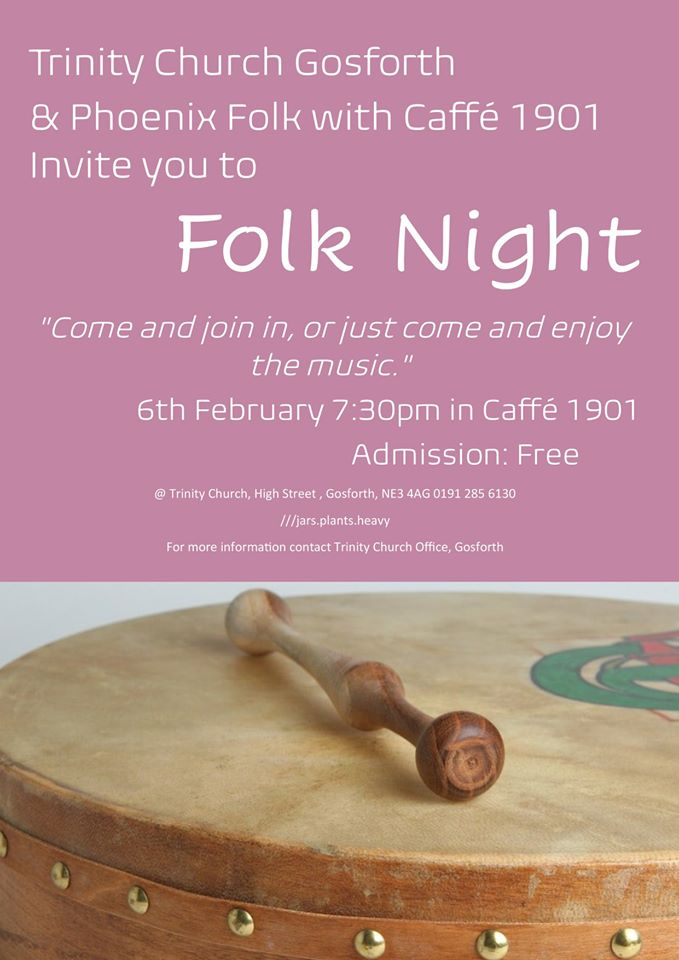 Feb 20 folk night